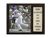 Image of CandICollectables 1215BRYANTROY MLB 12 x 15 in. Kris Bryant Chicago Cubs ROY Player Plaque