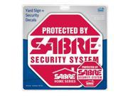 Sabre HS SYS Yard Sign Security Decals