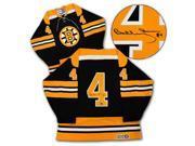 AJ Sports World ORRB102006 Bobby Orr Autographed Boston Bruins CCM Retro Hockey Jersey: GNR COA 9SIAC564ZW7644