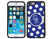 Coveroo 875-6714-BK-FBC Colorado Rockies Polka Dots Design on iPhone 6 & 6s Guardian Case 9SIAC564ZJ4652
