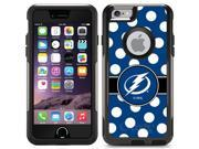 Coveroo Apple iPhone 6/6s Black Guardian Case with Tampa Bay Lightning Polka Dots, Full-Color Design 9SIA7NX5VD9737