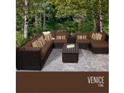 TKC Venice 10 Piece Outdoor Wicker Patio Furniture Set