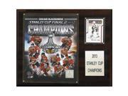 CandICollectables 1215SC13 NHL 12 x 15 in. Chicago Blackhawks 2012-2013 Stanley Cup Champions Plaque 9SIA00Y51U4471