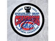 AJ Sports World RACA105051 Andre Racicot Montreal Canadiens Autographed 1993 Stanley Cup Puck 9SIAC564ZV2593