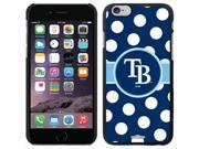 Coveroo Tampa Bay Rays Polka Dots Design on iPhone 6 Microshell Snap-On Case 9SIAC564ZM8363