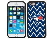Coveroo 875 10835 BK FBC Toronto Blue Jays Sketchy Chevron Design on iPhone 6 6s Guardian Case