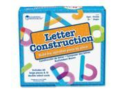 Learning Resources LRN8555 Letter Construction Activity Set