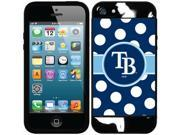 Coveroo Tampa Bay Rays Polka Dots Design on iPhone 5S and 5 New Guardian Case 9SIAC564ZN8914