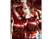 Bobby Clarke & Bernie Parent Philadelphia Flyers Dual Signed Cup 16x20 Photo 9SIAC564ZW7819