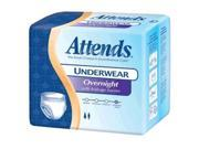 ATTENDS HEALTHCARE PRODUCTS 48APPNT40 Attends Overnight Protective Underwears Extra Large 58 to 68 in.