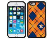 Coveroo 875 6770 BK FBC Houston Astros Argyle Design on iPhone 6 6s Guardian Case