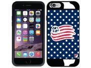 Coveroo New England Revolution Polka Dots Design on iPhone 6 Guardian Case