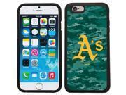Coveroo 875 7449 BK FBC Oakland Athletics Digi Camo Color Design on iPhone 6 6s Guardian Case