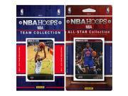 CandICollectables 2014PELICANSTS NBA New Orleans Pelicans Licensed 2014 15 Hoops Team Set Plus 2014 15 Hoops All Star Set