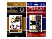 CandICollectables BRUINS13 NHL Boston Bruins Licensed 2013-14 Score Team Set & All-Star Set 9SIA00Y51U5400