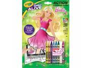 Crayola 95-1048 Color Alive Action Coloring Pages - Barbie 9SIAC565056334