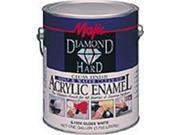 Majic Paints 8 1591 1 1 Gallon Satin White TB No. 1 Diamondhard Acrylic Enamel