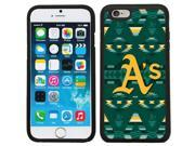 Coveroo 875 8547 BK FBC Oakland Athletics Tribal Print Design on iPhone 6 6s Guardian Case
