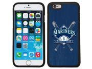 Coveroo 875 6890 BK FBC Seattle Mariners Bats Design on iPhone 6 6s Guardian Case