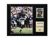 Image of CandICollectables 1215JTUCKER NFL 12 x 15 in. Justin Tucker Baltimore Ravens Player Plaque