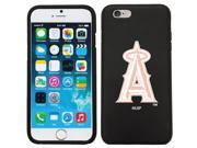Coveroo 875 9265 BK HC LA Angels of Anaheim White with Pink Design on iPhone 6 6s Guardian Case