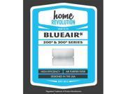 Home Revolution 104000 Blueair 200 And 300 Series Air Purifier Filter 9SIAC564ZD2872