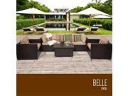 TKC Belle 6 Piece Outdoor Wicker Patio Furniture Set