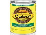Image of Cabot 11407 1 Gallon, Deep Base Deck & Siding Semi Solid Stain