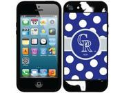 Coveroo Colorado Rockies Polka Dots Design on iPhone 5S and 5 New Guardian Case 9SIAC564ZN8912