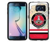 Coveroo 870-11513-BK-FBC Chicago Blackhawks 2015 Stanley Cup Champions Design on Samsung Galaxy S6 Edge Guardian Case 9SIAC564ZP3639