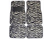 Plasticolor 001441R01 Zebra Pattern Floor Mat
