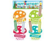 Creative Teaching Press CTP1758 Happy Birthday Mini Bulletin Board Set