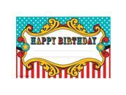 Teacher Created Resources TCR5806 Carnival Happy Birthday Awards