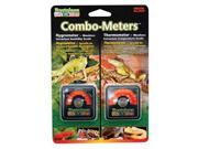 Penn Plax REP43 Combo Meters Hygrometer Thermometer Pack