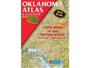 Delorme 332838 Oklahoma Atlas And Gazetteer