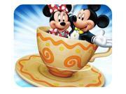 """Mickey Mouse In Cup Mousepad Personalized Custom Mouse Pad Oblong Shaped In 8"""""""" x 9"""""""" Gaming Mouse Pad/Mat"""" 9SIAC5C4WY7071"""