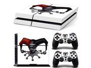 PS4 Skin Sticker Harley Quinn Decal Sticker For PS4 PlayStation 4 2 Controller Skins Brand Cool Protected PS4