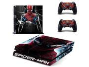 spiderman PS4 Skin Sticker For Sony Playstation 4 PS4 Console protection film and Cover Decals Of 2 Controller 9SIAC5C5409791