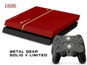 So Pop Metal Gear Solid Game MGS Protective Decor Skin Sticker for SONY Playstation 4 Decal Stickers for PS 4 PS4 Cool 9SIV10D5MY8658