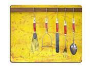 """Gaming Mousepad kitchen utensils 9"""" x 10"""""""