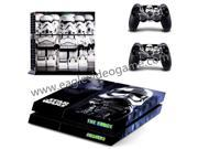 Cute Storm Trooper sticker for ps4 console skin for ps4 controller decal star wars accessories the force