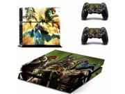 Ninja Turtles Design Protective Decor Skin Sticker for SONY Playstation 4 Decal Stickers for PS 4 PS4 Cool 9SIAC5C5DV9980