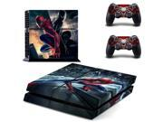 Spiderman PS 4 Vinyl Skin Sticker Cover For PS4 Playstation 4 Console + Controller Decal 9SIV10D5MY8431