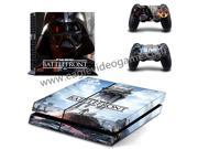 For ps4 skin sticker star wars battlefront sticker for ps4 controller decal+ console skin darth vader