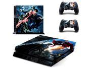 DC Batman VS Superman BVS PS4 Skin Sticker Decal Vinyl For Sony PS4 PlayStation 4 Console and 2 Controller Stickers