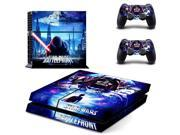 Star Wars Vinyl Decal Skin Sticker For Sony Playstation 4 Console and 2Pcs Controller Controle Protective Skin For PS4 Accessory