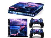 Cool spiderman Skin Stickers For Sony Playstation 4 PS4 Console and dualshock 4 Sticker for ps4 Skin 9SIV10D5MY9516