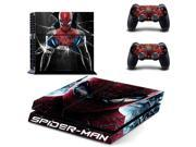 spiderman PS4 Skin Sticker For Sony Playstation 4 PS4 Console protection film and Cover Decals Of 2 Controller 9SIV10D5MY8960