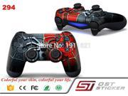Decal skin For PS4 Vinyl Skin Spiderman Style Decal Stickers Wrap For Sony PS4 Controllers Skins 9SIV10D5MZ1117