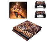 Cleveland Cavaliers Kyrie Irving PS4 Slim Skin Sticker Decal For Sony PS4 PlayStation 4 Slim Console and 2 Controllers Stickers 9SIV10D5MZ1493